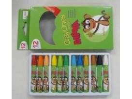 Crayones Escolares 12 Pcs-Personalizado
