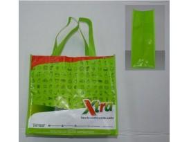 Bolsa Reutilizable 30X33X8CM Con Laminado Brillante 80GSM, Cosida